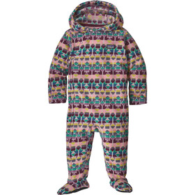 Patagonia Infant Micro D Bunting Kinderen, cedar mesa/plains green